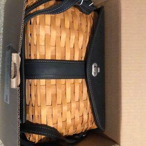 Longaberger Signature shoulder bag